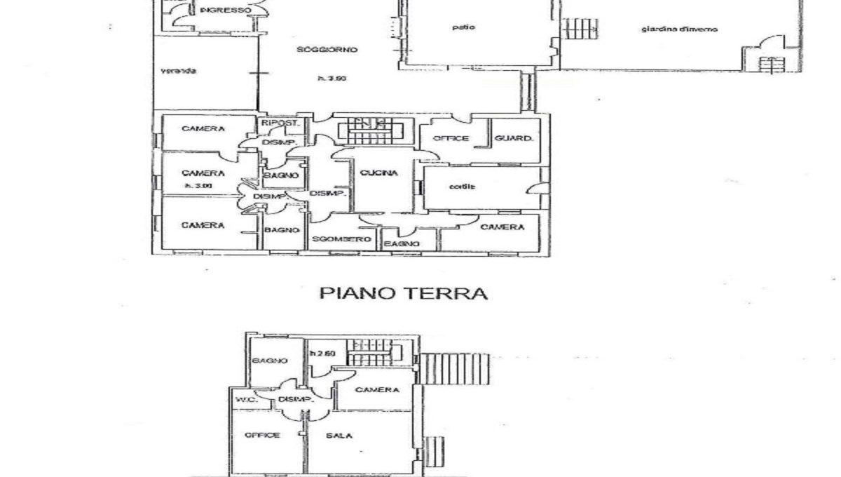 Villa via Ronco 42 ground and first floor