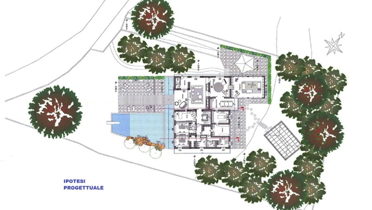 Villa via Ronco 42 project