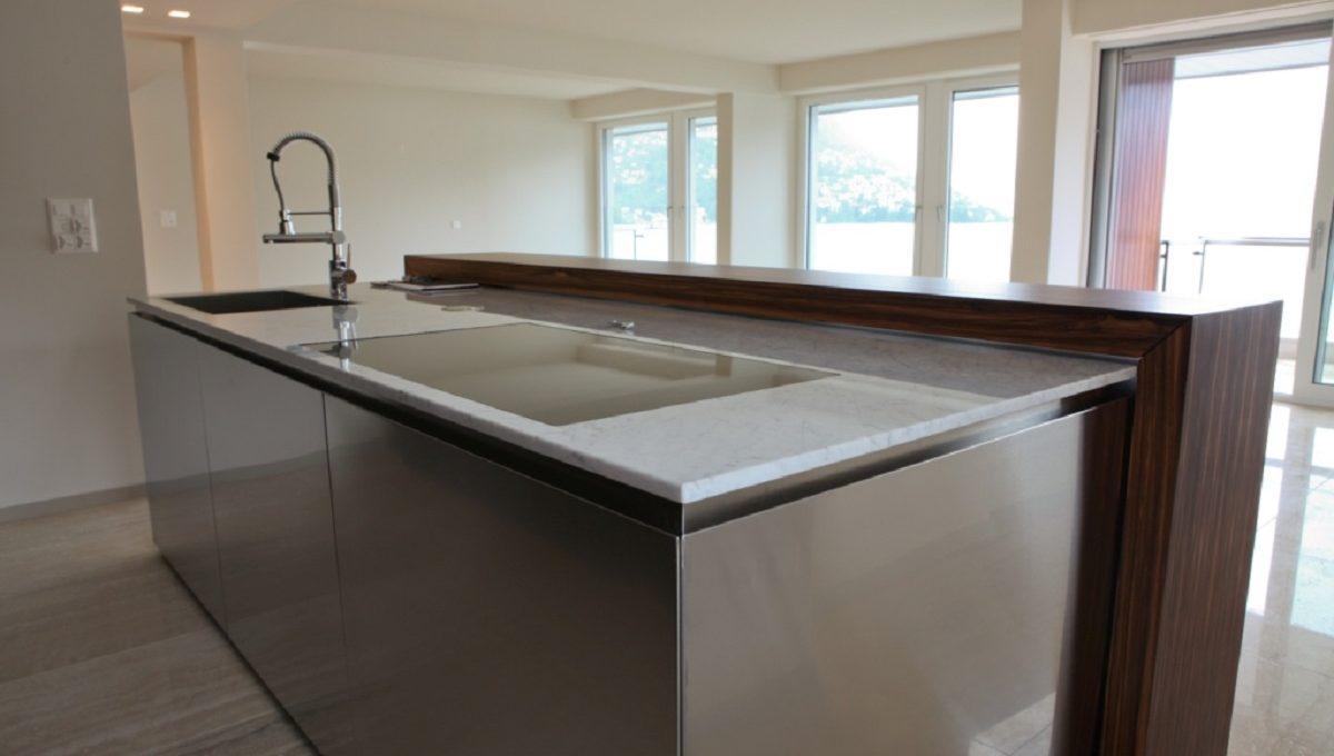 kitchen luxury house in Lugano Swizterland
