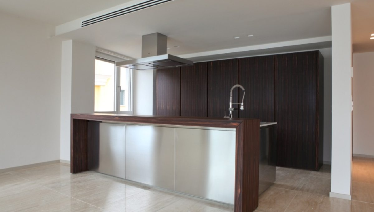 kitchen luxury flat in Lugano Switzerland