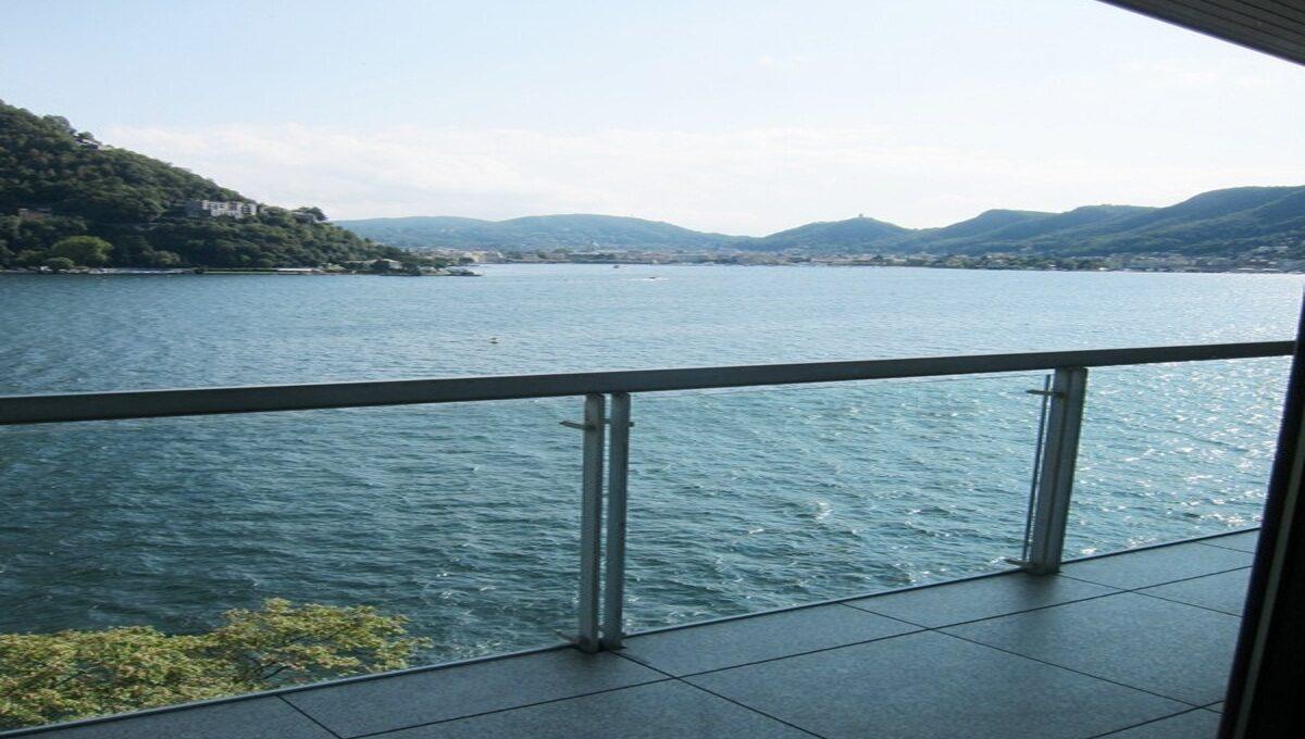 balcony on the lake