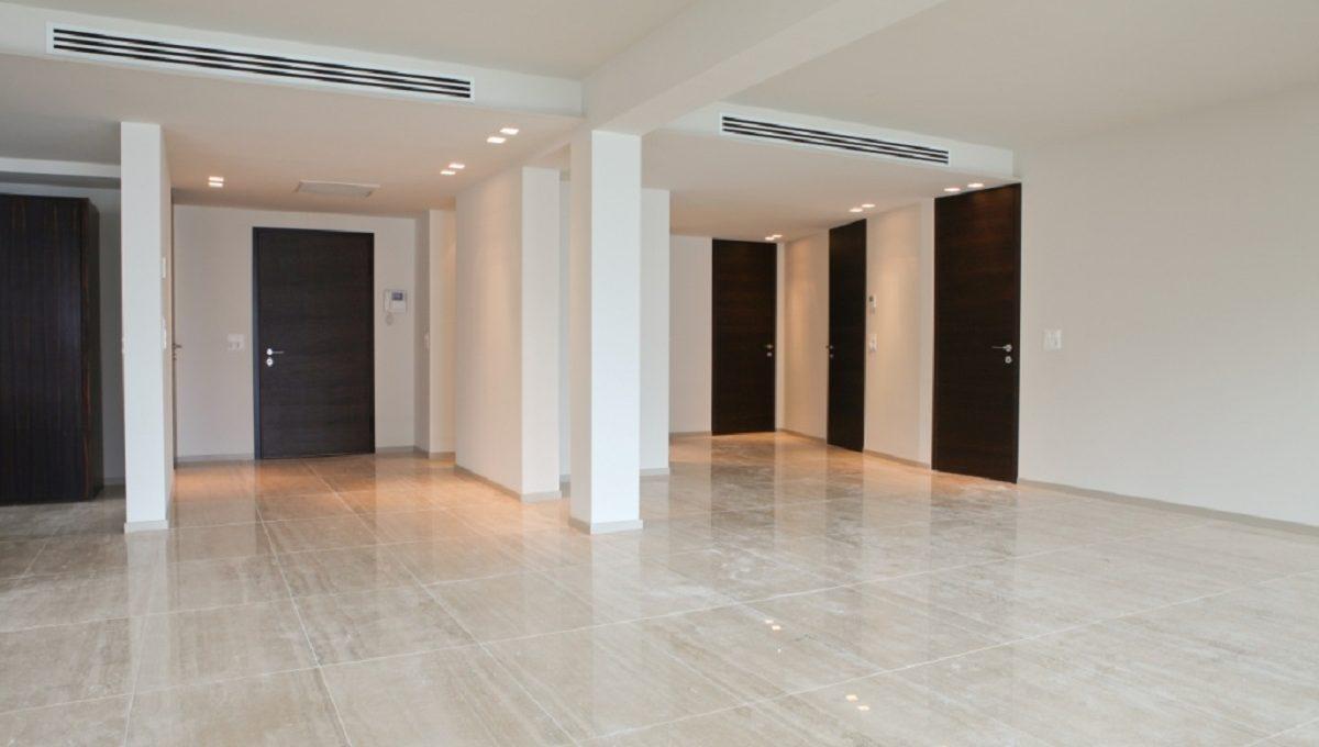 entrance luxury flat in Lugano Switzerland