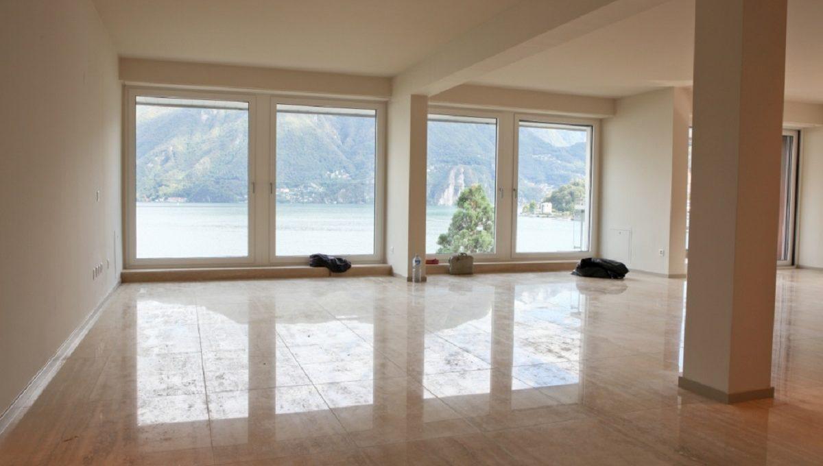 living room luxury flat in Lugano Switzerland  for sale