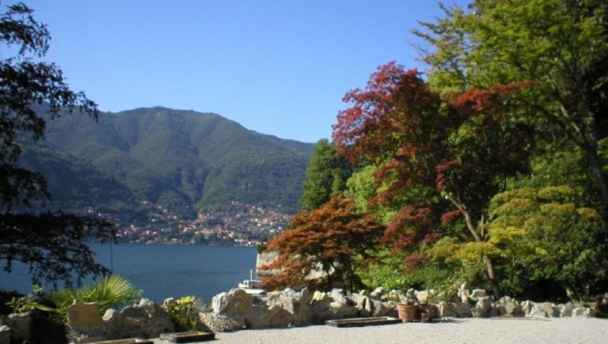 Garden on the lakeshore Blevio