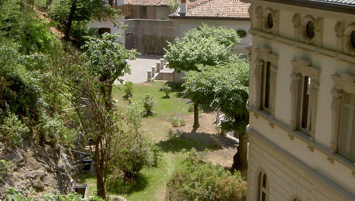 View from a window of the villa in Blevio
