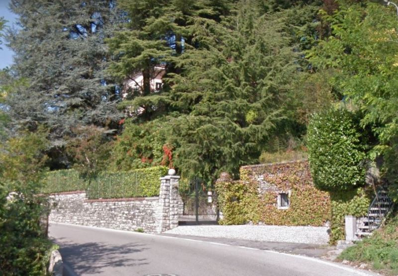 Entrance of Gorgeous Villa swimming pool San Fedele Intelvi Lake Como