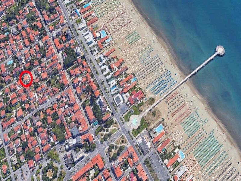 Marina di Pietrasanta map