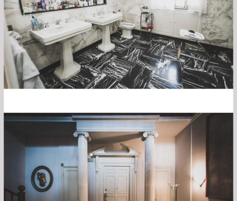 bathroom and entrance