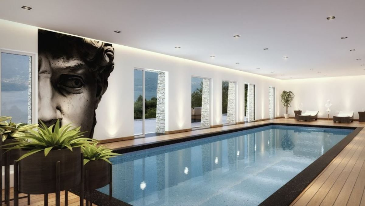 rendering swimming pool