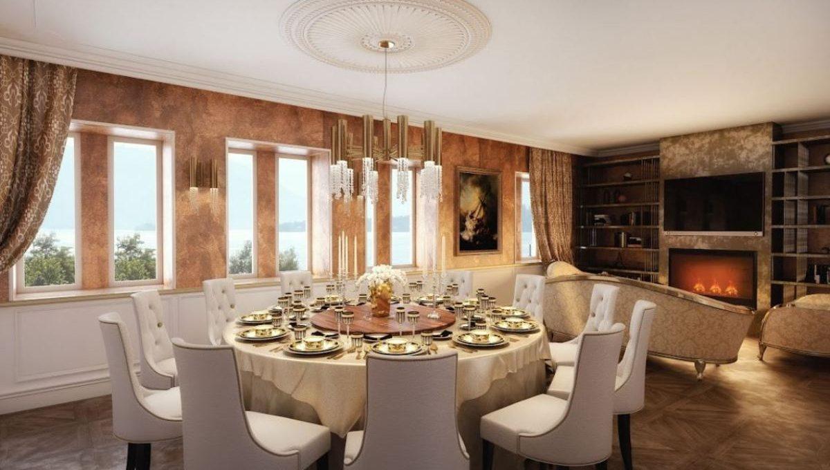 rendering dining room