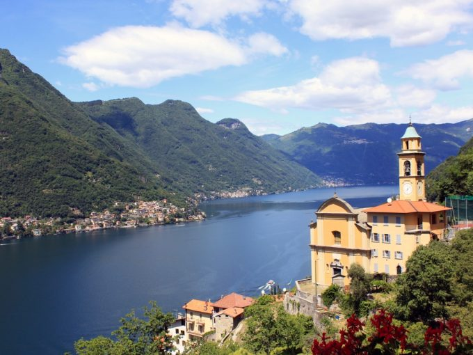 Pognana Lario house view panoramic view lake como
