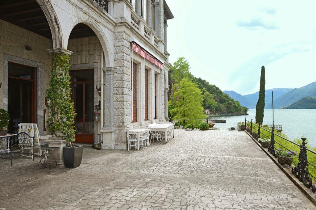 lakefront terrace