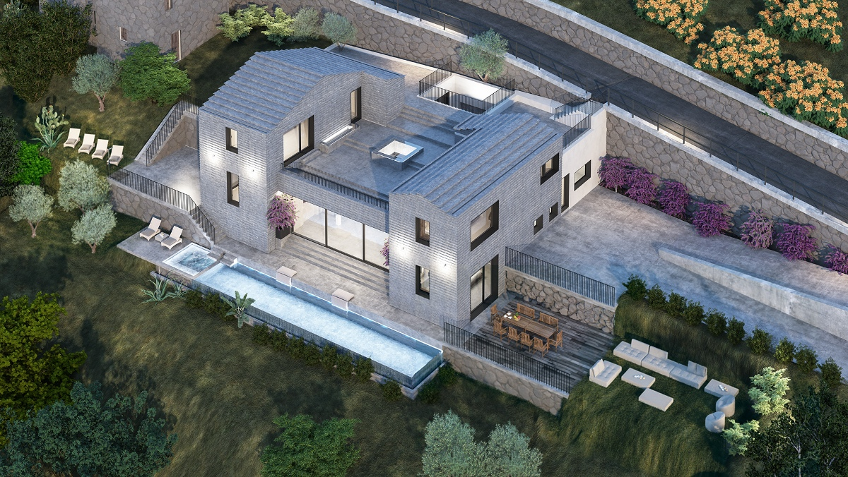 villa for rent lakefront
