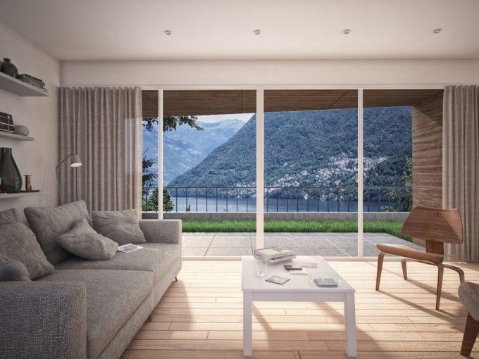 Carate Urio - wonderful new villa