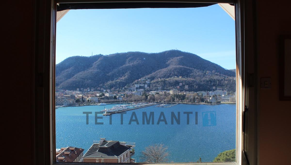 window como lake and city view