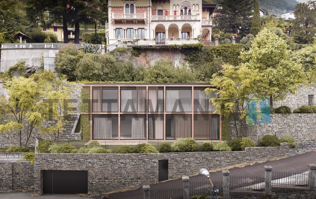 laglio lake como modern villa  apartment for sale