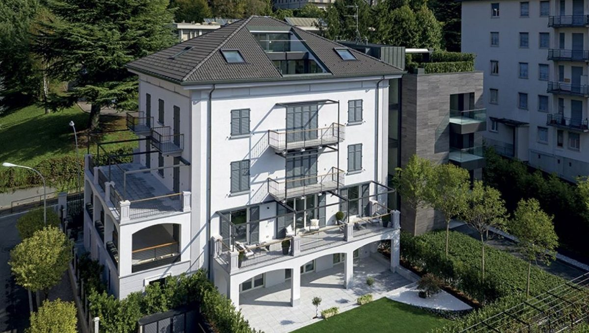 new penthouse for sale in Como