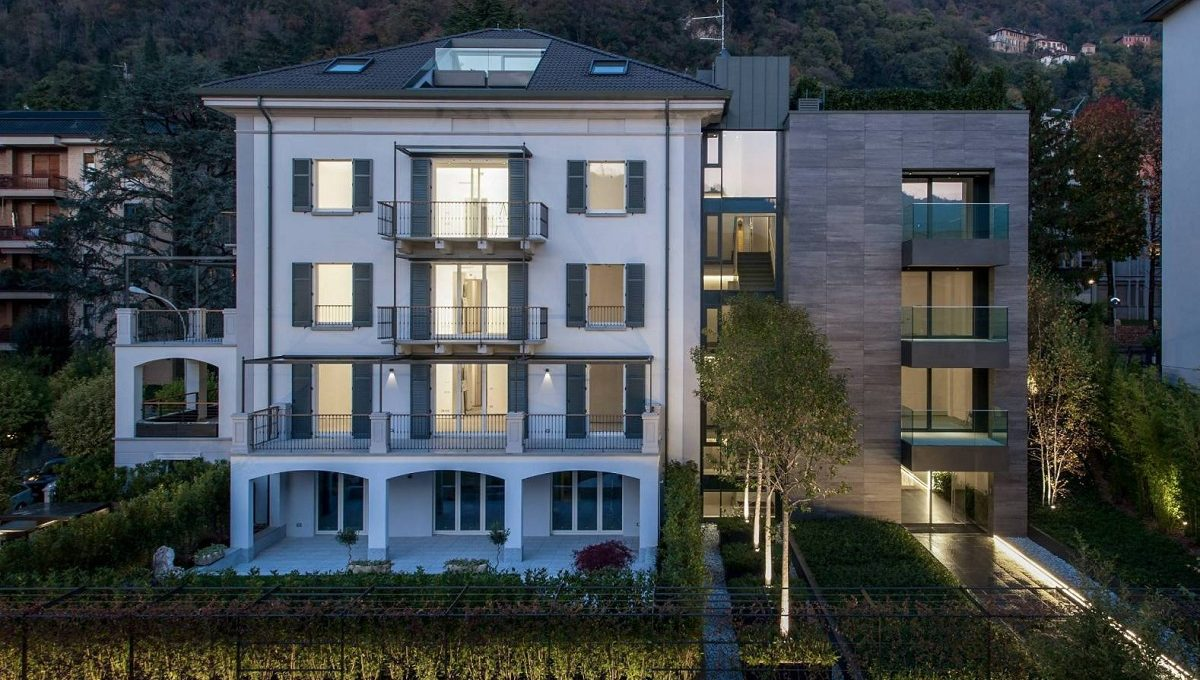 new modern apartment penthouse como for sale